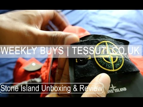 Stone Island Jacket & Jumper | Review & Unboxing | Tessuti.co.uk | Weekly Buys