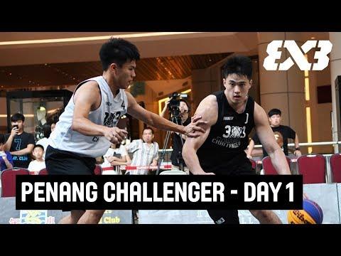 LIVE 🔴 - FIBA 3x3 Penang Challenger 2018 - Day 1 - Penang, Malaysia