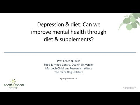 Professor Felice Jacka Diet and Depression