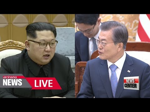 "[LIVE/NEWSCENTER] S. Korea's Moon says ""ultimate goal, getting rid of all nuclear weapons"""