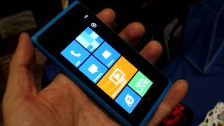 Nokia Lumia 900 (AT&T) LTE Windows Phone hands-on from CES 2012