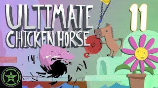 Sticky Holes - Ultimate Chicken Horse (#11) | Let's Play