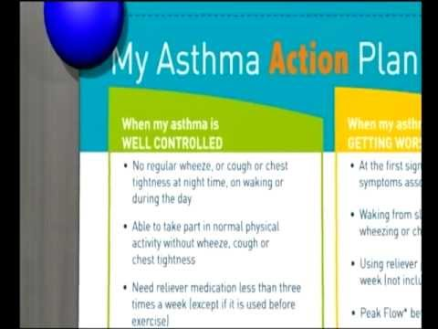 Asthma action plan - YouTube