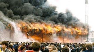 POŽÁRY.cz: Fotbalový stadion v Bradfordu zažil jeden z nejhorších požárů ve fotbalové historii