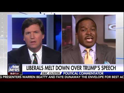 Tucker Carlson debates Civil Rights Lawyer who thinks Trump is Hitler