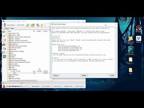 Skyrim - Fix Skyui // Problem Report