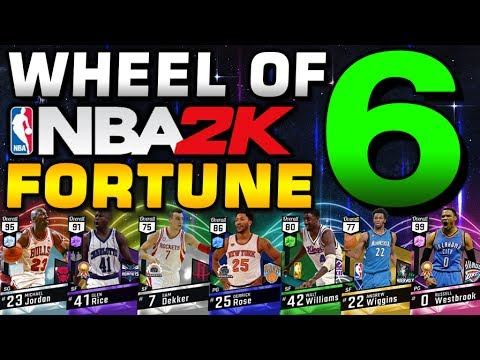 WHEEL OF NBA 2K FORTUNE 6! LAST CALL!