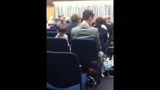 Canterbury kingdom hall part 2. Listen out for the elder