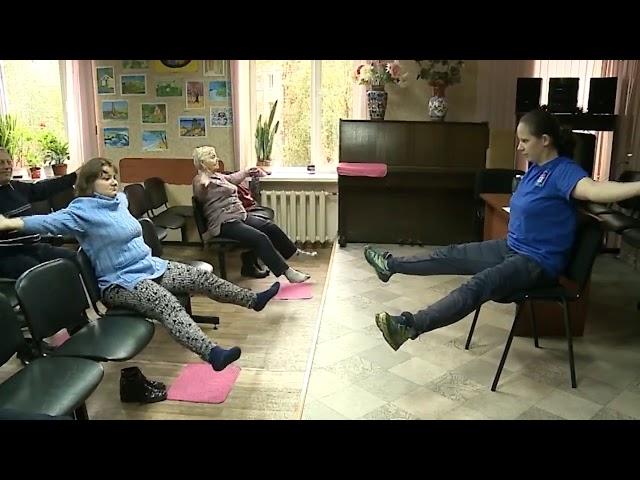 Тренировка в мытищинской местной организации инвалидов «Всероссийское общество слепых»