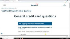How To Check Capital One Credit Card Application Status