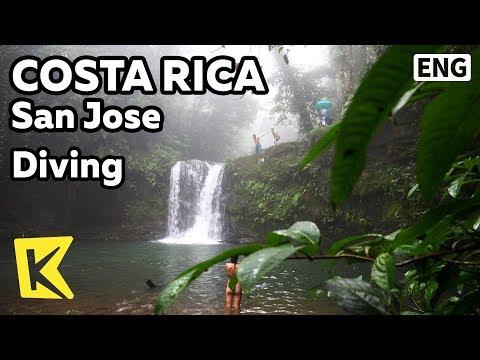 【K】Costa Rica Travel-San Jose[코스타리카 여행-산호세]폭포 다이빙/Diamante Waterfall/Diamante verde/Diving