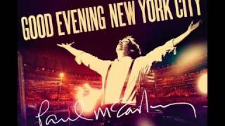 Paul McCartney - Let Me Roll It - CD Good Evening New York City