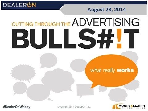 Cutting through the Advertising Bullsh!t   What REALLY Works