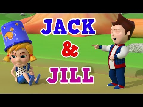 Jack and Jill | Jack and Jill Went Up The Hill | Nursery Rhymes | Kids Songs | Baby Rhymes | WooHoo