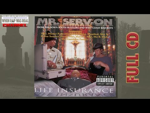 Mr. Serv-On - Life Insurance [Full Album] Cd Quality