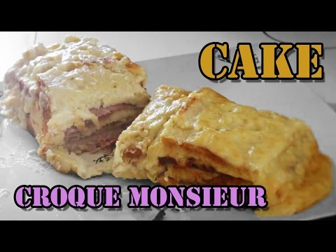 recette-facile-et-rapide-#2-le-cake-croque-monsieur