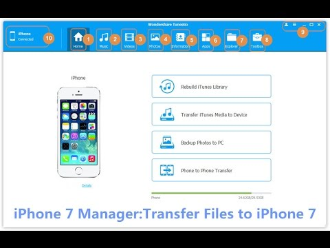 Mac iPhone 7 File Manager - Manage Your iPhone 7/7 Plus on Mac