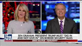 Sen. Lindsey Graham Blasts 'Liberals' Ignorance' on Border Security