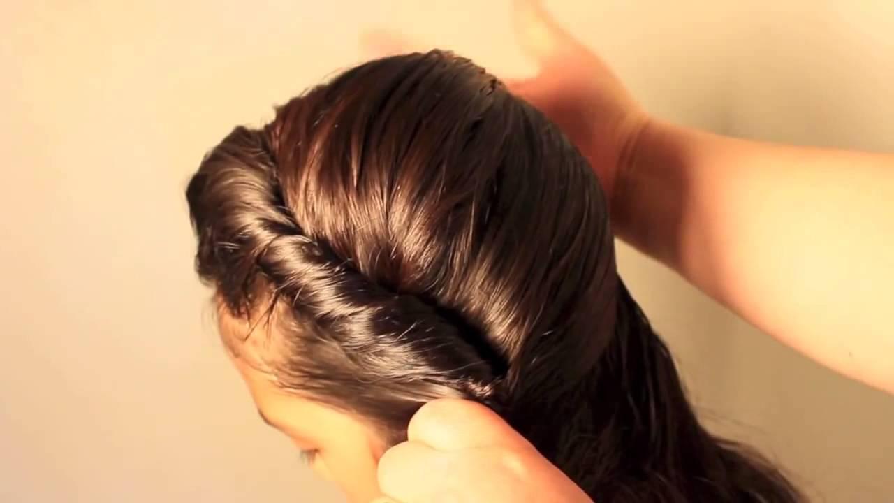 Peinado De Elsa En Frozen Frozen Elsas Coronation Hairstyle Youtube