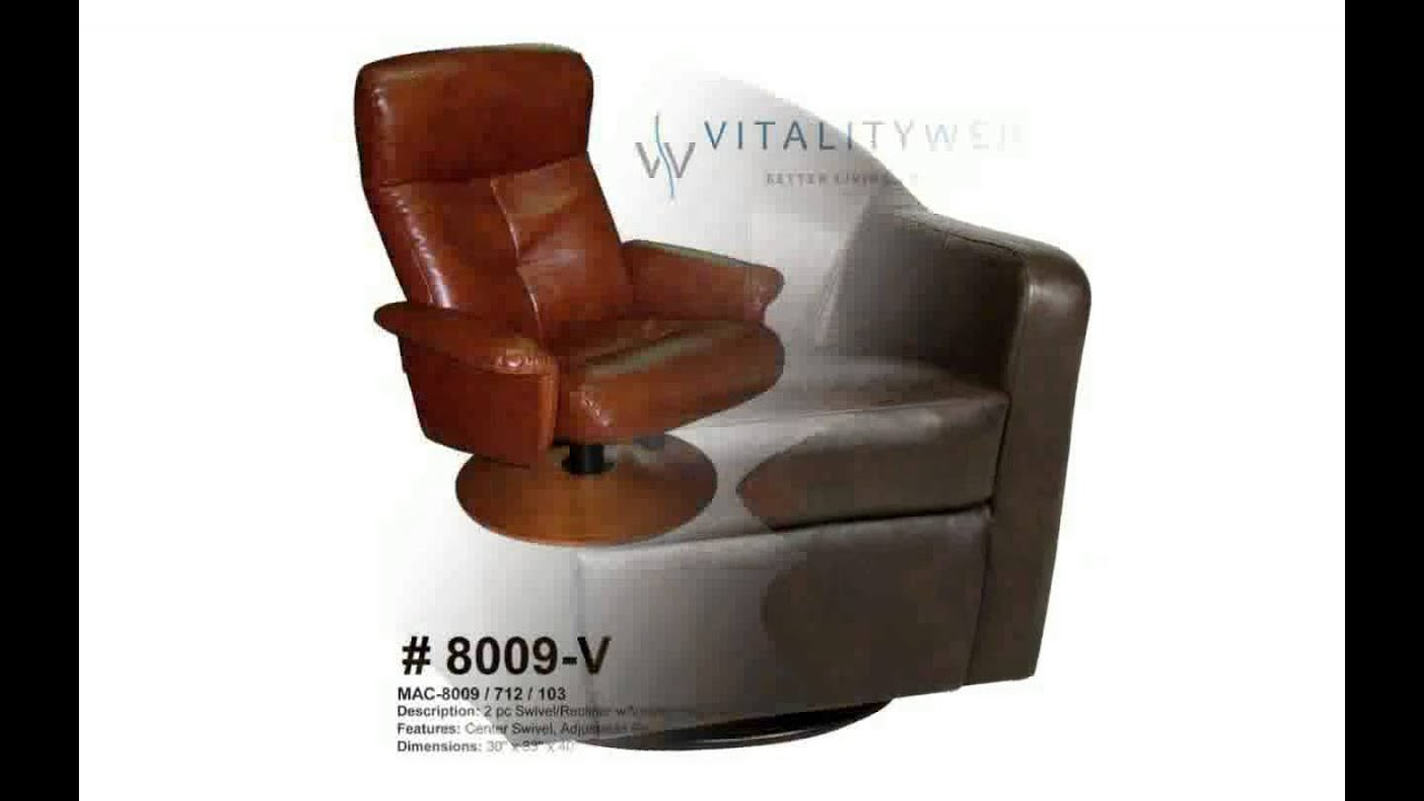 sc 1 st  YouTube & Leather Swivel Recliner Chairs - YouTube islam-shia.org