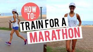 HOW TO RUN A MARATHON | My Training - Mileage & Strength Training | Episode 2