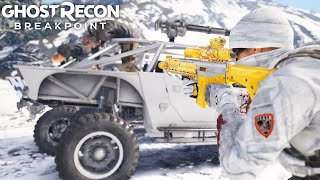 INCREDIBLE NEW SILVER STAKE LONG RANGE ASSAULT RIFLE in Ghost Recon Breakpoint Free Roam