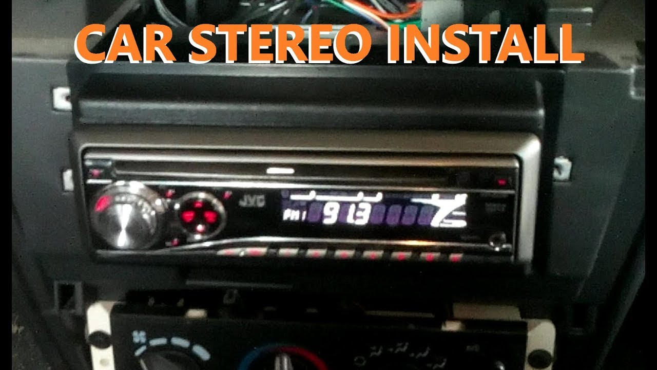 2000 cavalier stereo install gm chev pontiac buick  [ 1280 x 720 Pixel ]