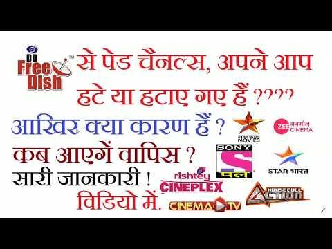 कब वापस आएँगे,DD free dish add old channels free to air zee anmol cinema sony wah star uatsav movies