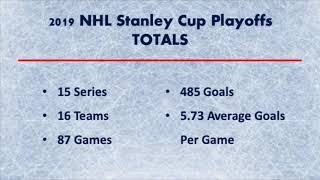 2019 NHL Stanley Cup Playoffs - TOTALS