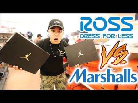 ROSS VS. MARSHALLS!!