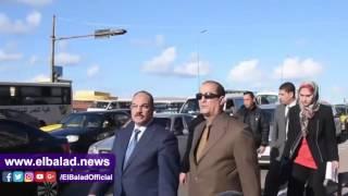 بالفيديو والصور.. محافظ الإسكندرية يتفقد المحاور المرورية بكورنيش سيدي جابر