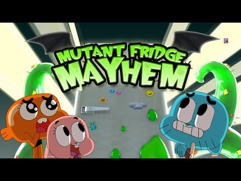 Mutant Fridge Mayhem - Gumball - Best App For Kids - IPhone/iPad/iPod Touch