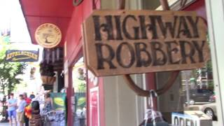 Boone, NC Downtown City Walk/Appalachian Mountain Brewery/Local Herbs