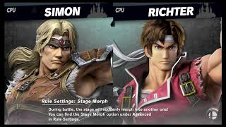 Super Smash Bros Ultimate Amiibo Fights   Request #1521 Castlevania Tourney   2019 02 19 12 46 20