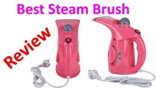 Best Steam Brush - Portable Clothes Iron Steamer Brush For Home -Best Steam Brush  Review