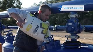 SandStorm™ filter  - Beginning of the irrigation season maintenance  | Netafim