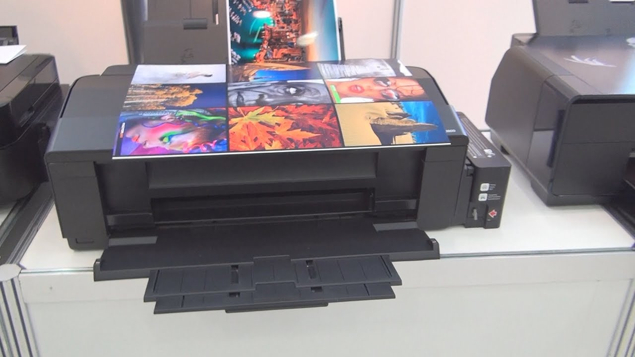 Epson L1800 Printer Review Youtube