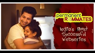 Permanent roommates behind the scenes || nidhi singh