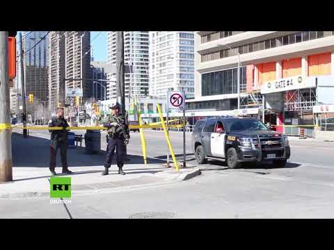 Attentat! Toronto: Mann fährt mit Transporter Fußgänger nieder   zehn Tote und 15 Verletzte