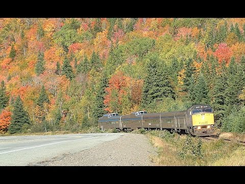 Riding VIA's Bras d'Or Part 2 Truro to Canso Causeway 8 October 2002