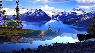 Maligne Lake Jasper National Park  Canada (HD1080p)