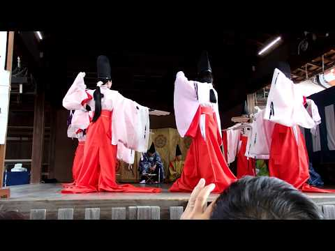 Kyoto Gion Festival 2017 - Traditional entertainment dedication