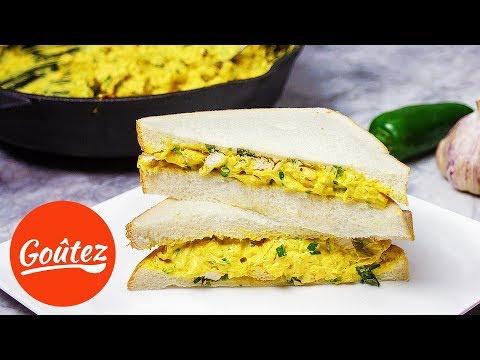 Chicken Sandwich Recipe (Cream Cheese)