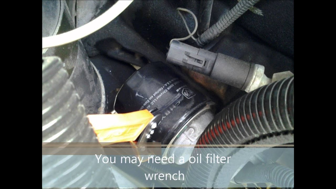 hight resolution of jeep xj oil change