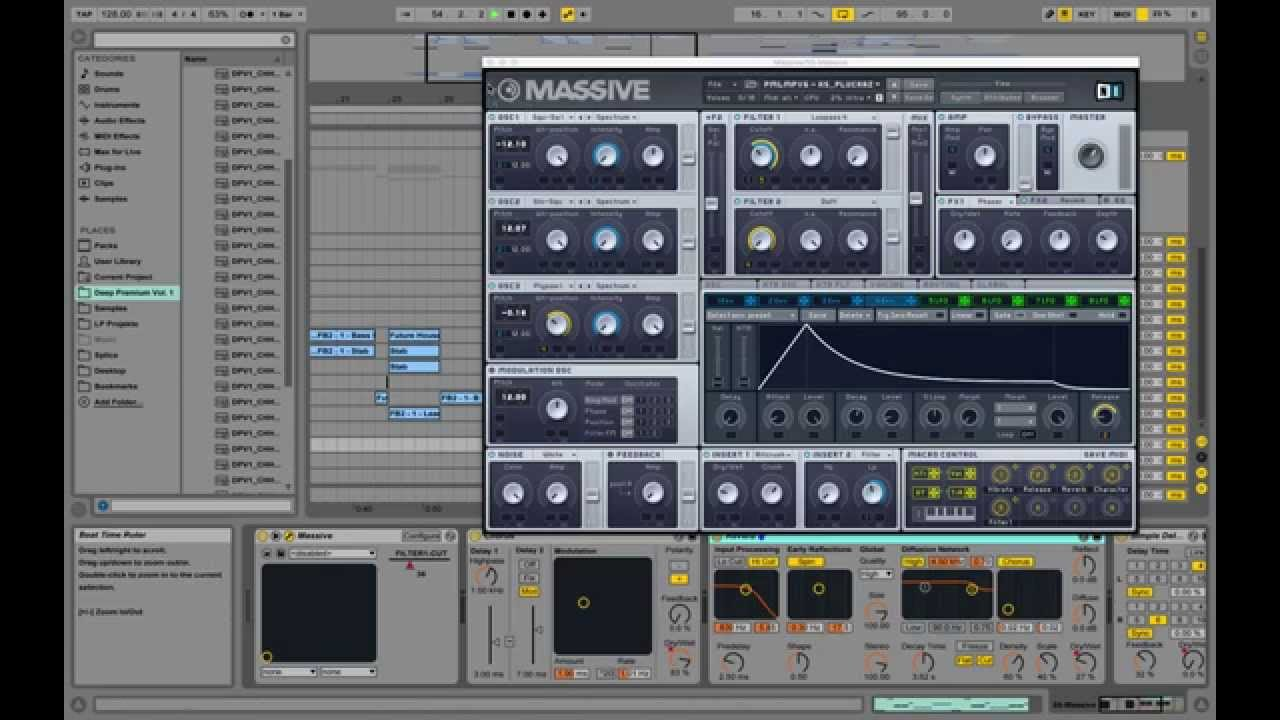 Song Ideas with Massive Vst Presets 6: Future House Vol  2