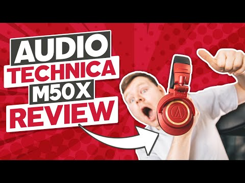 Audio Technica ATH M50X (Red Limited Edition) Headphone Review
