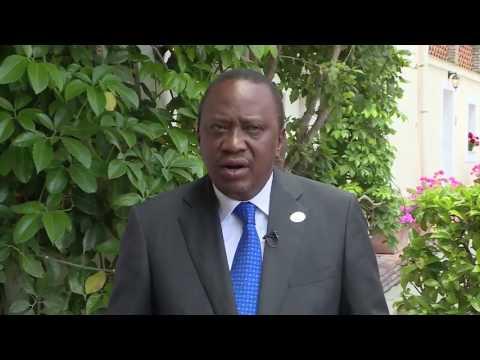 President Uhuru Kenyatta:- Remarks on the war against terrorism