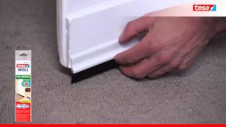 tesamoll® těsnění Kartáčová lišta pod dveře na koberce