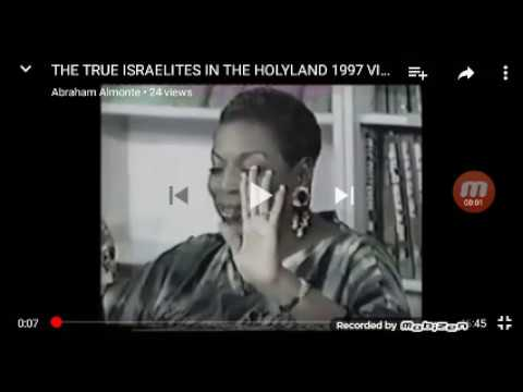The True Israelites In The Holy Land 1997 Video By B.E.T.