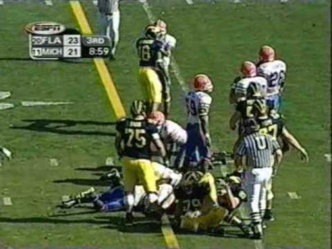 2003 Outback Bowl: Michigan-38 Florida-30 (PART 2)